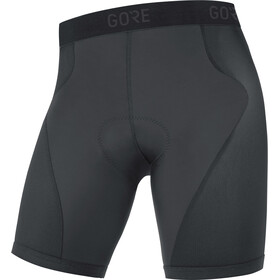 GORE WEAR C3+ Liner Shorts Heren, black